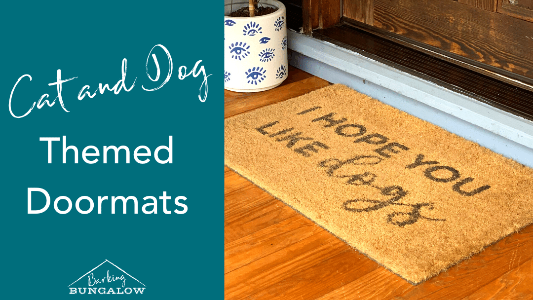 Must-Have Cat and Dog Themed Doormats