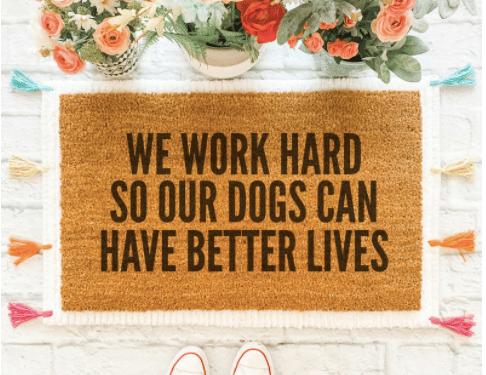 Dog Themed Doormats
