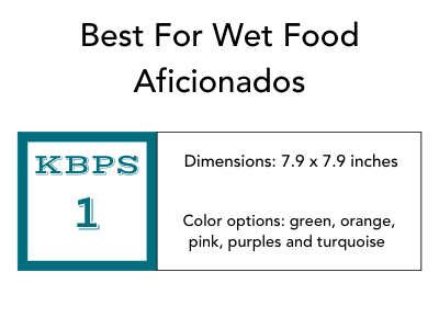 Best For Wet Food