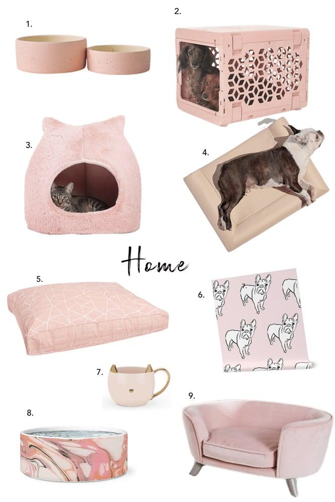 Blush Pink Pet Accessories