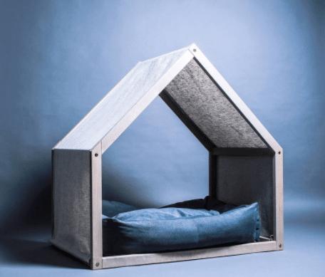 Minimalist Dog: indoor dog house