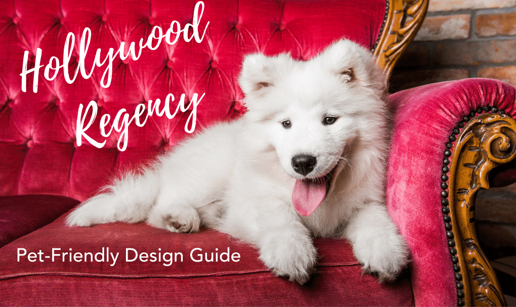 Hollywood Regency The Ultimate Glam in Pet-Friendly Interior Design